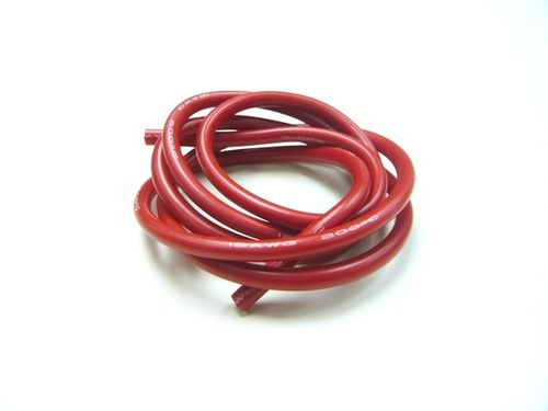 XCEED 107244 - Kabel 100cm soft-silicone rot 12