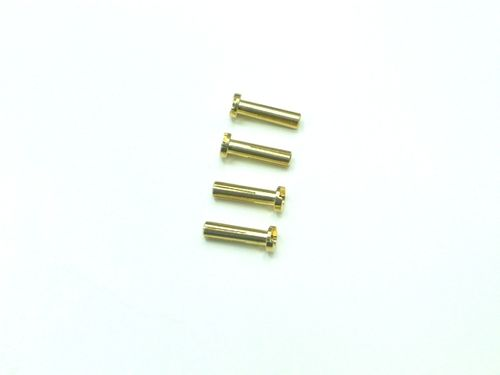 XCEED 107250 - Cable solder connector 18mm springtype brass ( 4)