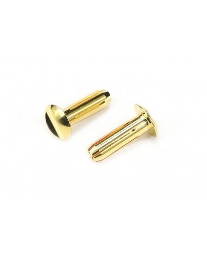 Arrowmax 701011 - Low Profile 4mm connector 24K (2)