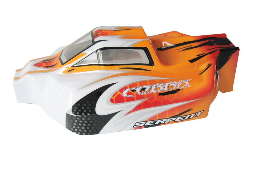 Serpent 170313 - Karosserie 1/8 Offroad Avenger orange