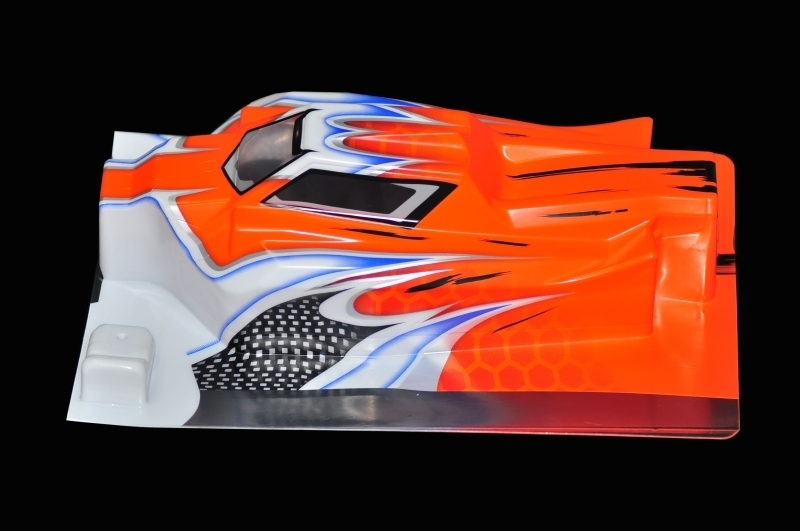 Serpent 170318 - Karosserie 1/8 Offroad E-Avenger orange