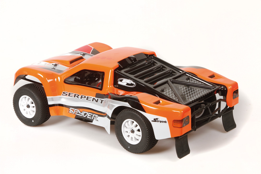 Serpent 170335 - Karosserie SCT 1/10 lackiert Orange-Rot