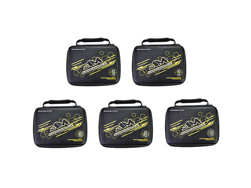 Arrowmax 199611 - AM Accessories Bag (240 x 180 x 85mm) Set - 5 Bag With Bumbers